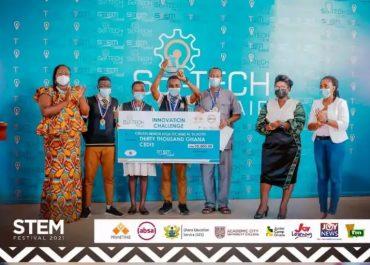 Obuasi Sec Tech Beats Aggrey Mem, Prempeh, Mfantsipim to Win National Sci-Tech Innovation Challenge 2021
